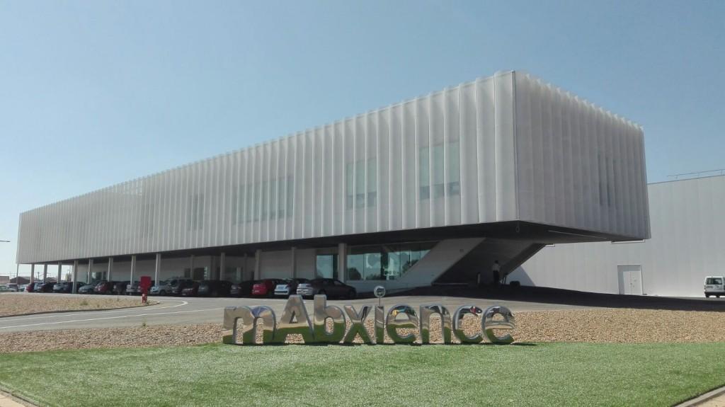Planta de desarrollo y producción de medicamentos bisosimilares de mAbxience en León (Castilla y León). mAbxience, compañía biotecnológica de medicamentos biosimilares